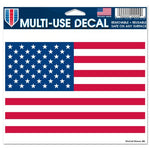 "Support America Patriotic 4.5"" x 5.75"" Multi-Use Decal - American Flag"