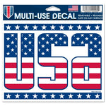 "Support America Patriotic 4.5"" x 5.75"" Multi-Use Decal - USA"