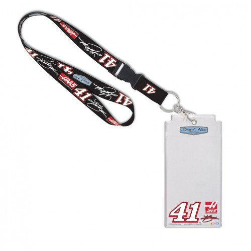 Kurt Busch NASCAR #41 Haas Credential Holder with Lanyard