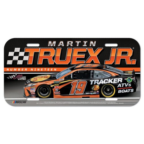 Martin Truex Jr NASCAR Full Color Plastic License Plate
