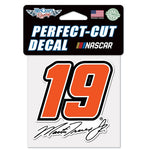 "Martin Truex Jr 4"" x 4"" NASCAR Perfect Cut Decal"