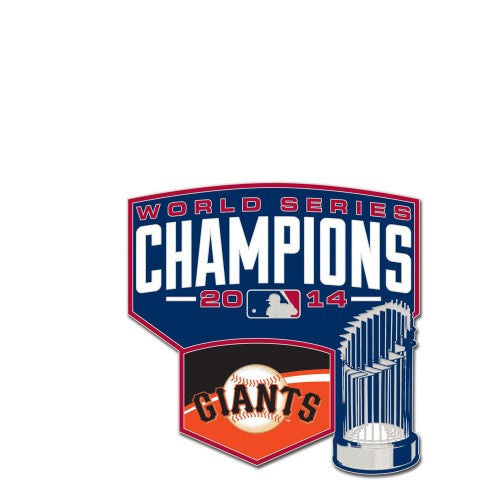 San Francisco Giants MLB Collectible Pin - 2014 World Series Champions