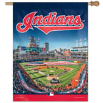 "Cleveland Indians MLB 27"" x 37"" Vertical Flag - Progressive Field"