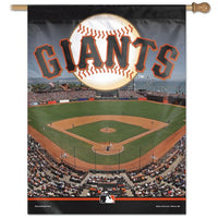 "San Francisco Giants MLB Stadium 27"" x 37"" Vertical Flag"