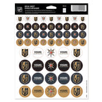 "Vegas Golden Knights NHL 8.5"" x 11"" Vinyl Sticker Sheet"
