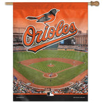 "Baltimore Orioles MLB Stadium 27"" x 37"" Vertical Flag"