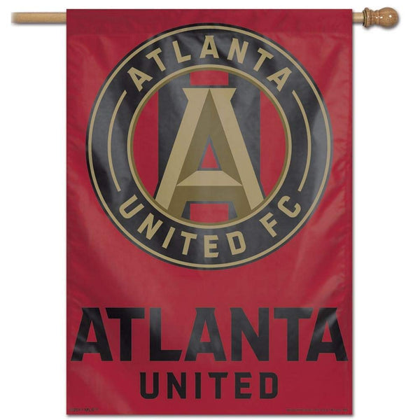 "Atlanta United FC MLS 28"" x 40"" Vertical Flag - Logo"