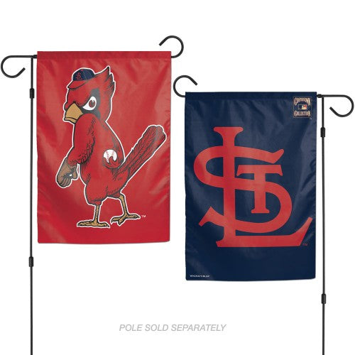 "St Louis Cardinals MLB 12.5"" x 18"" 2-Sided Garden Flag - Cooperstown"