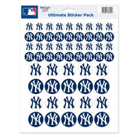 "New York Yankees MLB 8.5"" x 11"" Vinyl Sticker Decal Sheet"