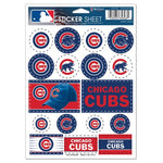 "Chicago Cubs MLB 5"" x 7"" Vinyl Sticker Decal Sheet"