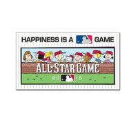2015 MLB All-Star Game Collectible Pin - Peanuts