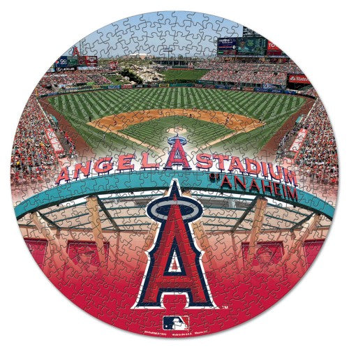 Los Angeles Angels MLB 500-Piece Jigsaw Puzzle