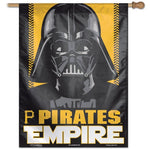 "Pittsburgh Pirates MLB Star Wars Darth Vader 27"" x 37"" Vertical Flag"