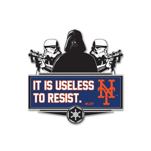 New York Mets MLB Collectible Pin - Star Wars Darth Vader/Stormtroopers