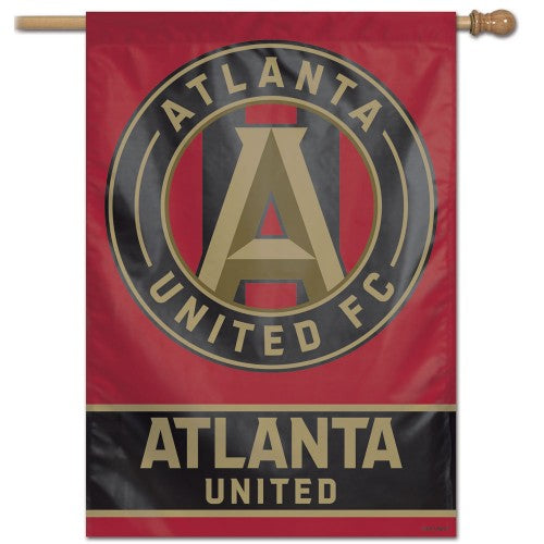 "Atlanta United FC MLS 28"" x 40"" Vertical Flag - Wordmark"