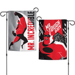"Walt Disney The Incredibles 2-Sided 12"" x 18"" Garden Flag - Mr. Tough Guy"