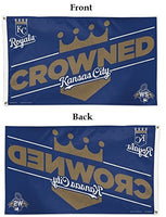 "Kansas City Royals MLB 3' x 5' Single-Sided Deluxe Flag - World Series ""Crowned"""
