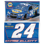 Chase Elliott #24 NASCAR 2-Sided 3 x 5 Flag