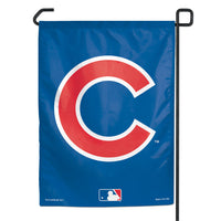 "Chicago Cubs MLB 11"" x 15"" Garden Flag - C Logo"