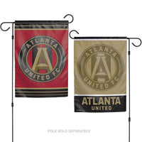 "Atlanta United FC MLS Double-Sided 12"" x 18"" Garden Flag"
