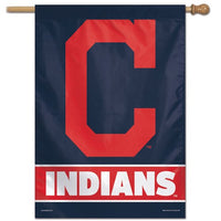 "Cleveland Indians MLB 28"" x 40"" Vertical Flag - Team Name"