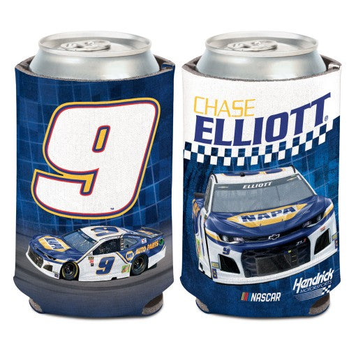 Chase Elliott NASCAR Can Cooler - NAPA (Image Shows Front and Back View)