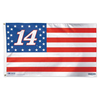 Tony Stewart NASCAR 3' x 5' Single-Sided Deluxe Flag - American Flag