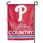 "Philadelphia Phillies MLB 11"" x 15"" Garden Flag - Phillies Country"