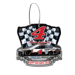 Kevin Harvick NASCAR 2018 Dated Acrylic Ornament