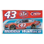 Bubba Wallace NASCAR 3' x 5' Single-Sided Deluxe Flag