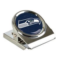 Seattle Seahawks NFL Metal Magnet Clip