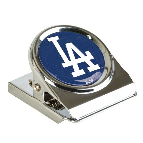 Los Angeles Dodgers MLB Metal Magnet Clip