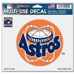 "Houston Astros MLB 4.5"" x 5.75"" Multi-Use Decal - Cooperstown Logo"
