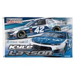 Kyle Larson NASCAR 3' x 5' Single-Sided Deluxe Flag