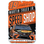 Martin Truex Jr NASCAR Speed Shop 11 x 17 Plastic Sign