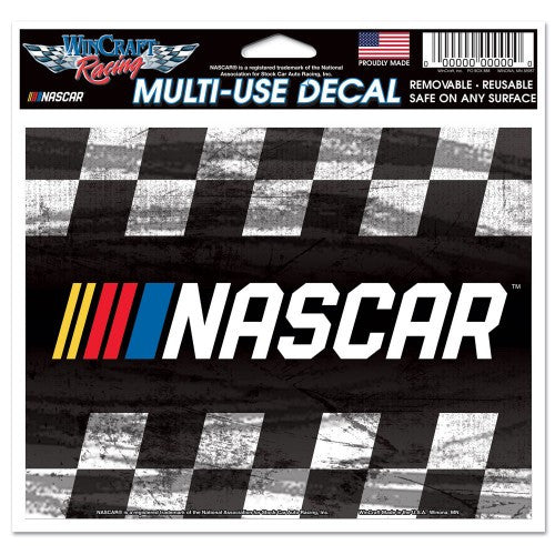 "NASCAR Logo 4.5"" x 5.5"" Multi Use Decal"