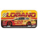 Joey Logano NASCAR Full Color Plastic License Plate