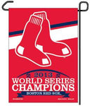 "Boston Red Sox MLB 11"" x 15"" Garden Flag - 2013 World Series Champions"