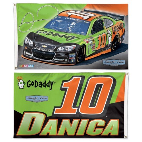Danica Patrick NASCAR 2-Sided 3 x 5 Flag