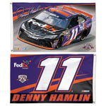 Denny Hamlin NASCAR 2-Sided 3 x 5 Flag