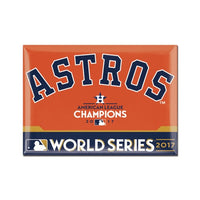 Houston Astros 2017 League Champion/World Series Participant MLB Metal Fridge Magnet