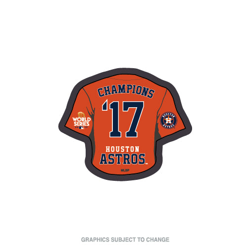 Houston Astros MLB Collectible Pin - 2017 Champions Jersey