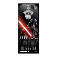 "Star Wars 5"" x 11"" Bottle Opener Sign"