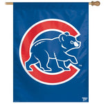 "Chicago Cubs MLB 27"" x 37"" Vertical Flag - Bear Cub"