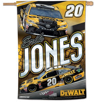 "Erik Jones NASCAR 28"" x 40"" Vertical Flag"