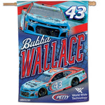 "Bubba Wallace NASCAR 28"" x 40"" Vertical Flag"
