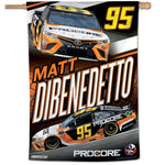 "Matt Dibenedetto NASCAR 28"" x 40"" Vertical Flag"