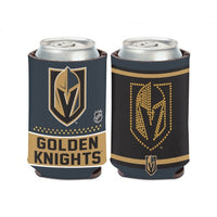 Vegas Golden Knights NHL Can Cooler - Bling Design