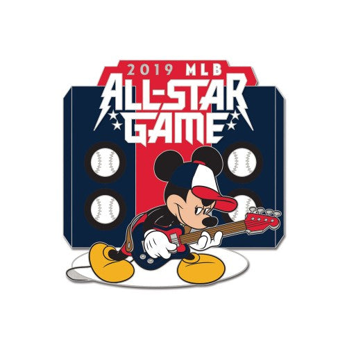 2019 MLB All-Star Game Collectible Pin - Mickey Mouse