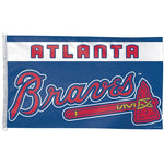 Atlanta Braves MLB Team Logo 3' x 5' Single-Sided Standard Flag